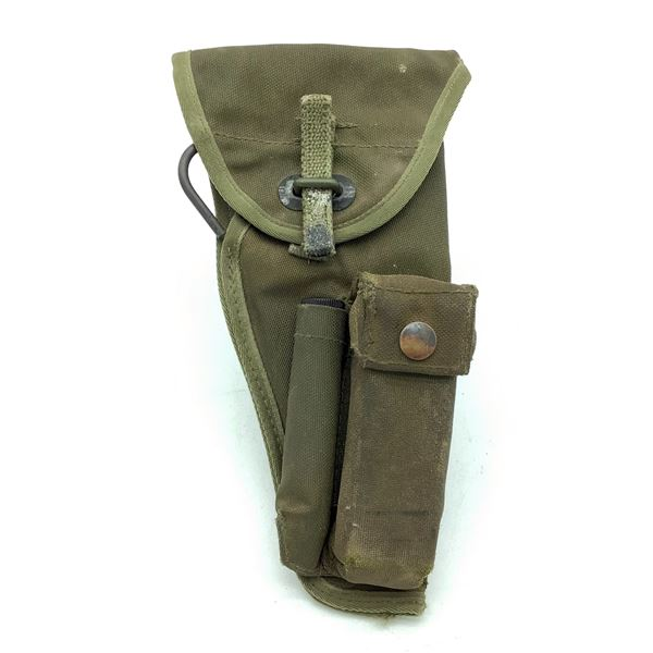 Military Browning Hi Power Holster With Magazine Carrier
