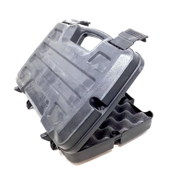 "Plano Gun Gard Pistol Case, Foam Padded, 14"" X 8"", Black"