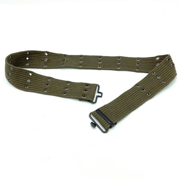 Military Adjustable Web Belt, Fits Up to 41