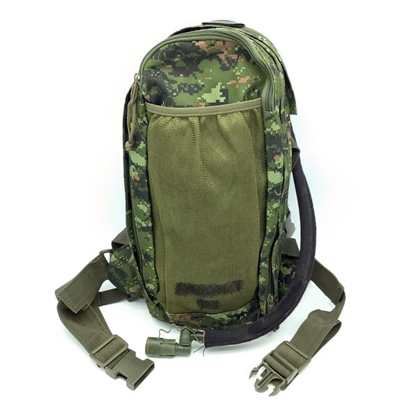 Adjustable Military Water Pack (2.5L) With Removable Bag