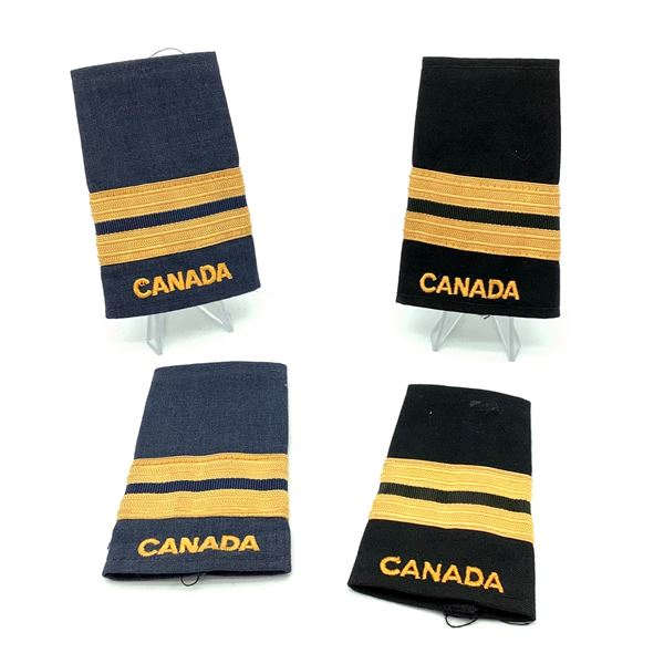 Military Army Captain Epaulettes and Air Force Captain Epaulettes