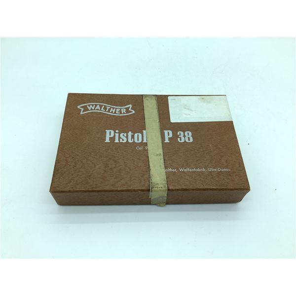 Original Walther P38, Box.