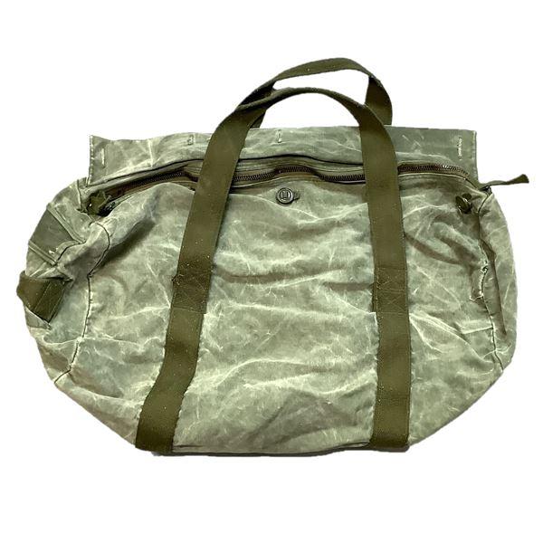 Military Duffle Bag, Canvas ODG