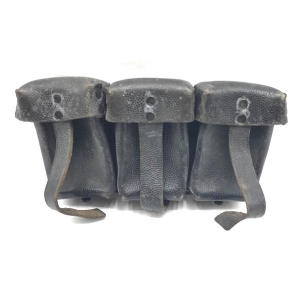 Mauser 98 3-Cell ammo Pouch, Surplus