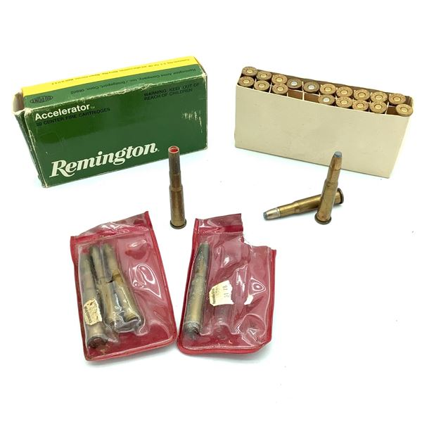 Assorted 30-30 Win, 28 Rounds Ammunition and 5 Flares