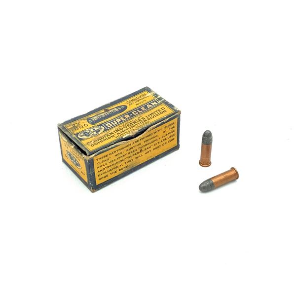 Dominion Super-Clean 22 Long LRN Ammunition, 20 Rounds
