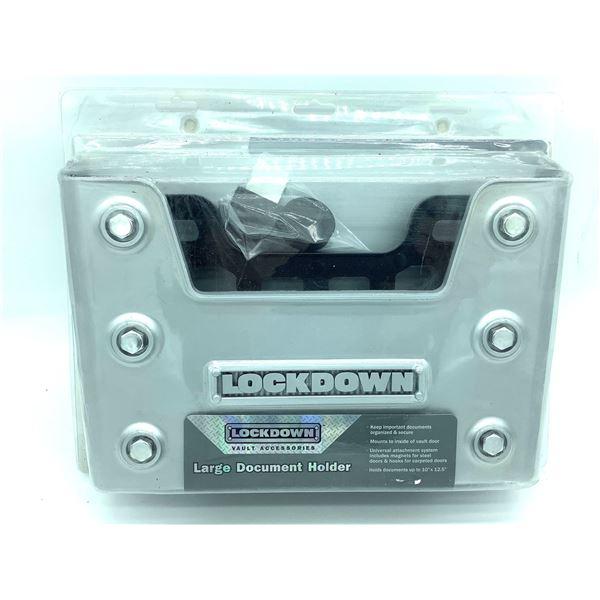 Lockdown, Large Document Holder, New