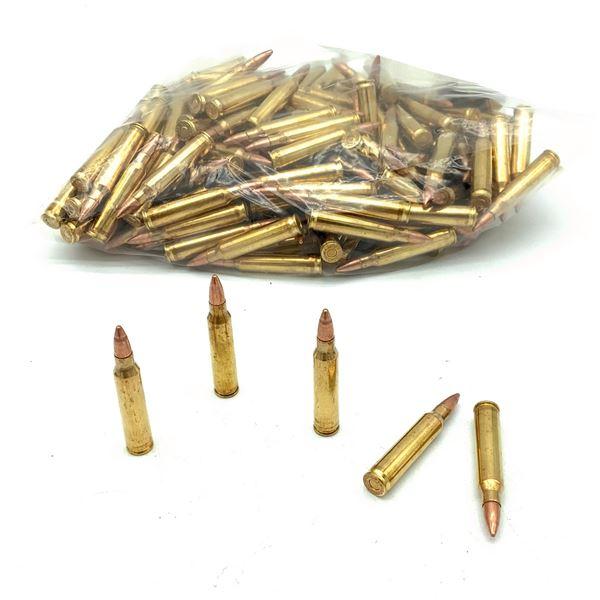 Loose 223 Rem 55 Grain FMJ Ammunition, 176 Rounds