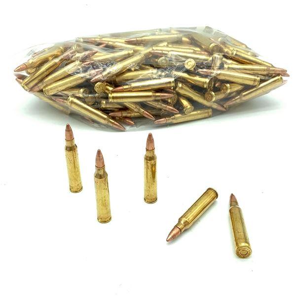 Loose 223 Rem 55 Grain FMJ Ammunition, 186 Rounds