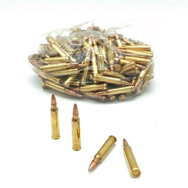 Loose 223 Rem 55 Grain FMJ Ammunition, 200 Rounds