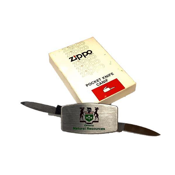 Zippo Ontario MNR Folding Pocket Knife