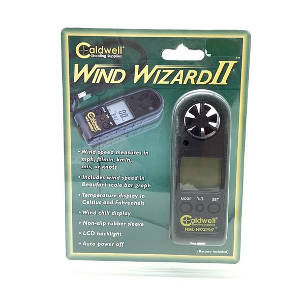 Caldwell Wind Wizard II, New