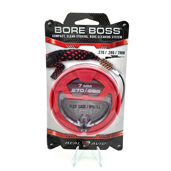 Real Avid Bore Boss Boresnake for 270, 280, 7mm Cal, New