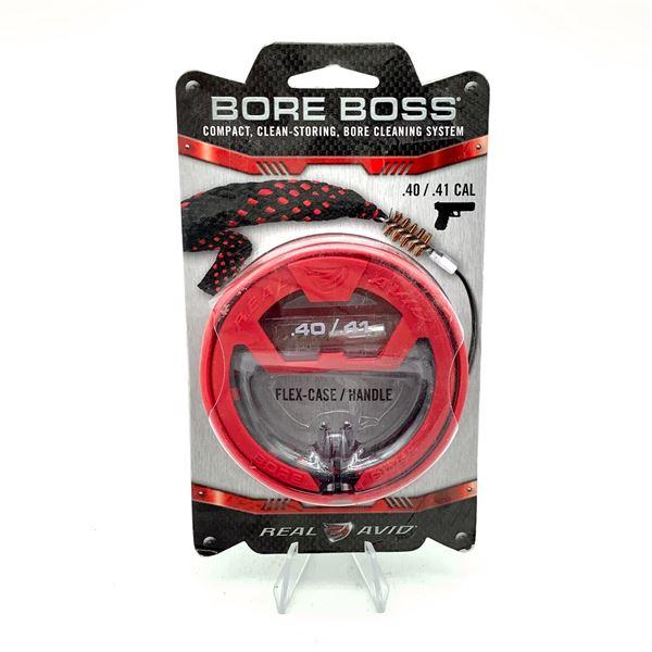 Real Avid Bore Boss Boresnake for 40 / 41 Cal, New
