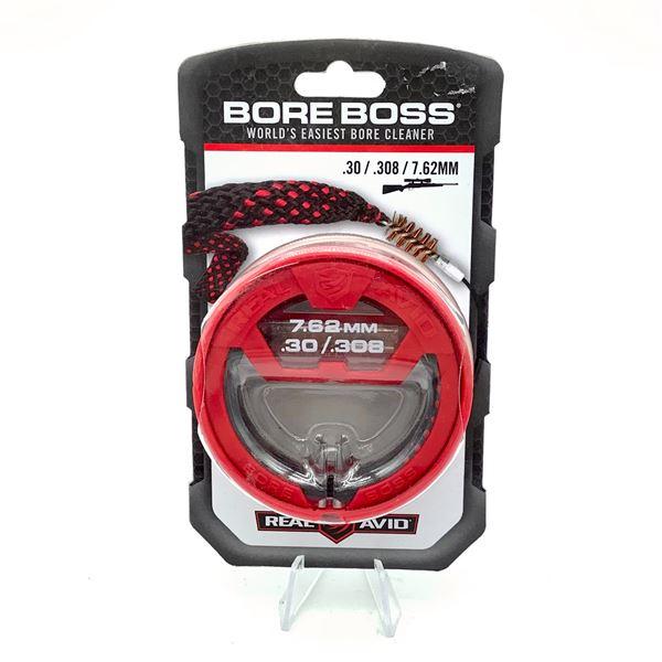 Real Avid Bore Boss Boresnake for 30 Cal / 7.62, New