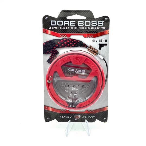 Real Avid Bore Boss Boresnake for 44 / 45 Cal, New