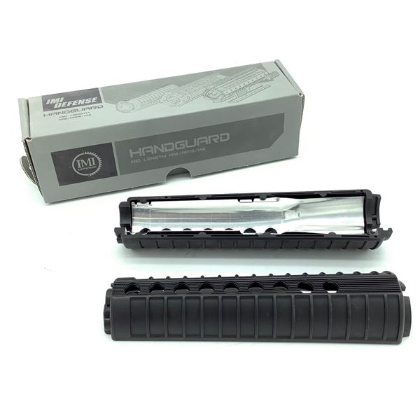 IMI Defense AR-15 / M4 Mid Length Handguard, Black, New