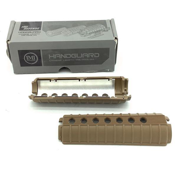 IMI Defense AR-15 / M16 Carbine Length Handguard, FDE, New