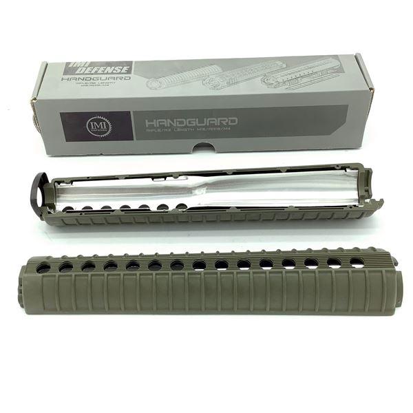 IMI Defense AR-15 / M16 Rifle Length A2 Handguard, ODG, New