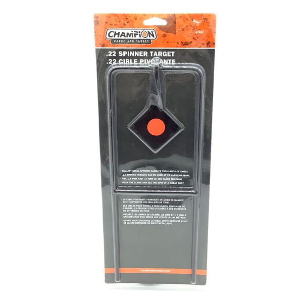 Champion 22 Spinner Target, New
