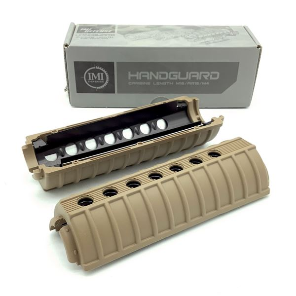 IMI Defense AR-15 / M16 M4 Carbine Length Handguard, FDE, New