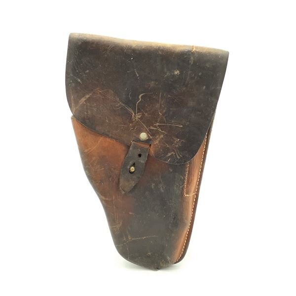 Leather Holster for Belt, Brown