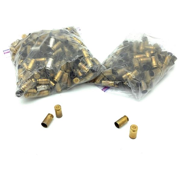 Once Fired 40 S & W Cases, 500 Pieces