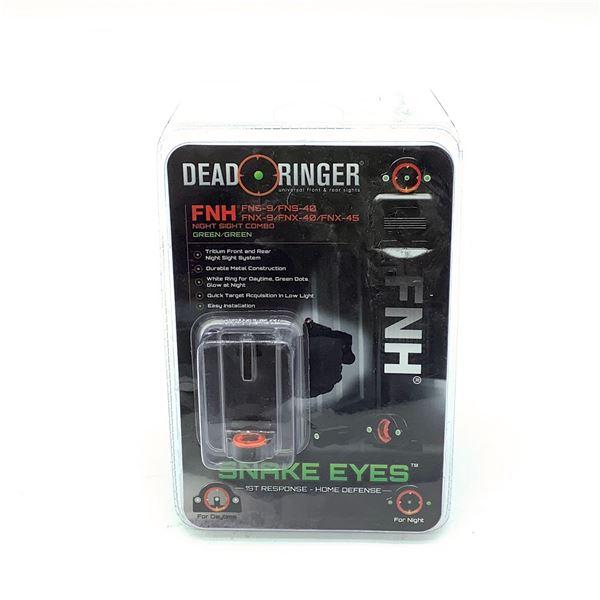 Dead Ringer Snake Eyes FNH Night Sight Combo, New
