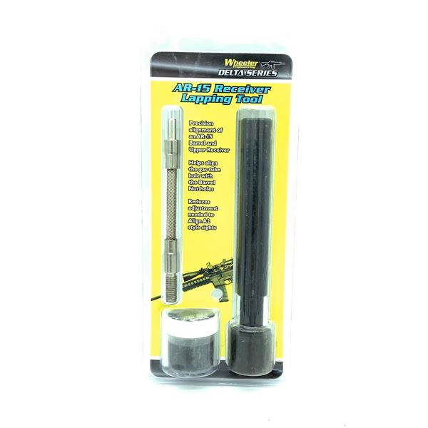Wheeler Delta Series AR-15 Receiver Lapping Tool, New
