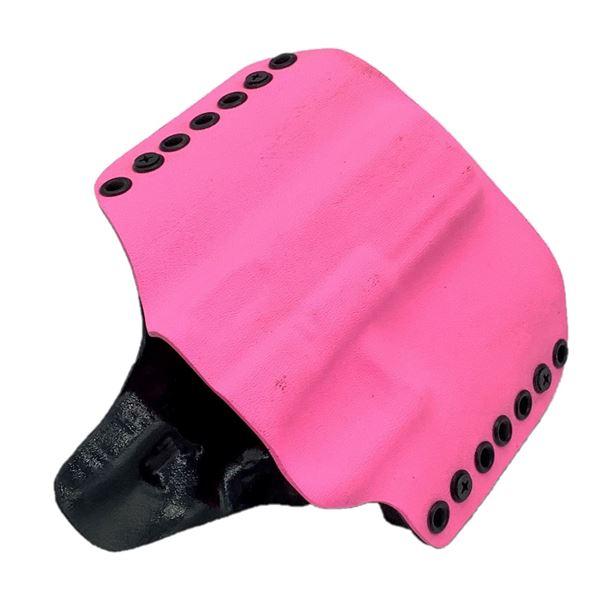 Kydex Belt Loop Holster for Glock 17/22, Pink