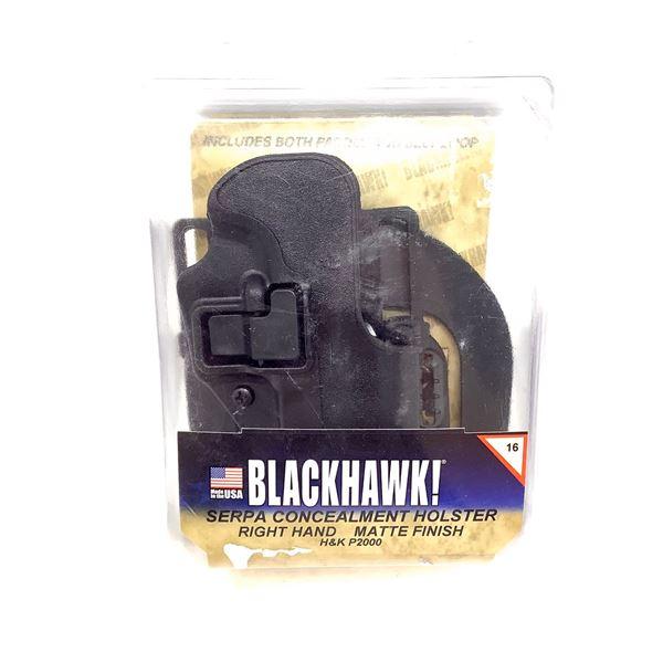 BlackHawk Serpa RH Holster for H & K P2000, Black, New
