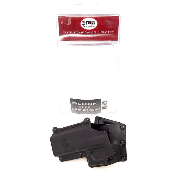 Fobus Elite Glock 20, 21, 37, 38 LH Belt Holster, Black, New