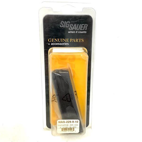 Sig Sauer 228, 229 9mm Pistol Magazine, 10 Round, New