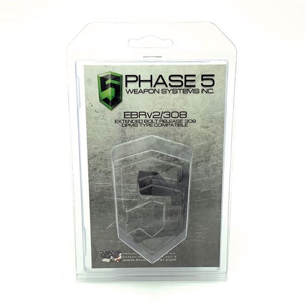 Phase 5 Extended Bolt Release, 308 DPMS Type Compatible, New