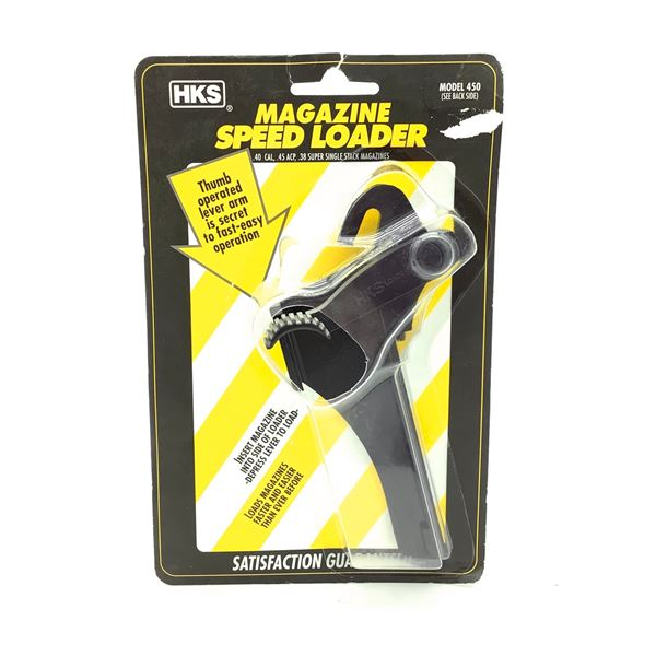 HKS Speed Loader for Colt, Llama 45 ACP, Auto Ordnance 1911 A1, Springfield, New