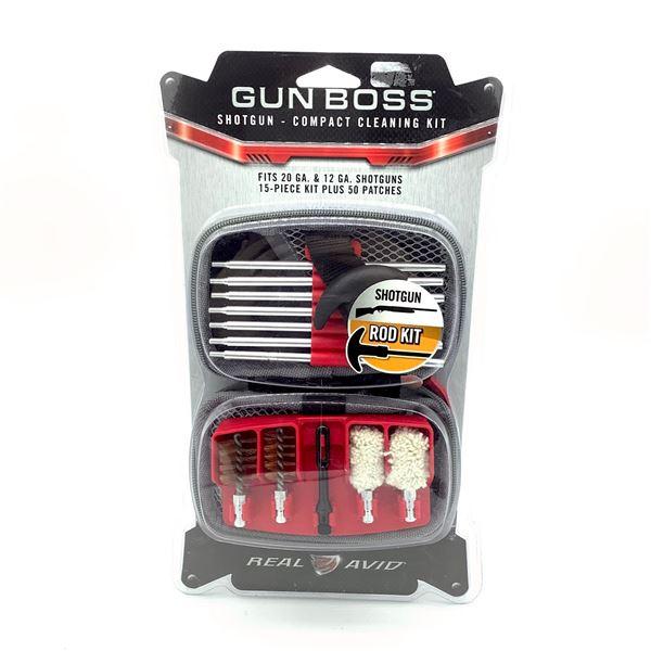 Real Avid Gun Boss Compact Shotgun Cleaning Kit, New