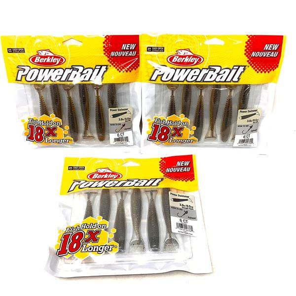 Berkley PowerBait Power Swimmers X 3, New