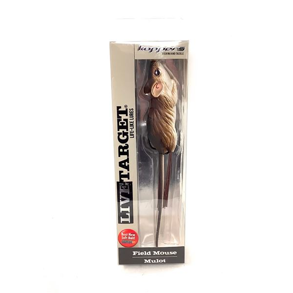 Live Target Field Mouse Lure, New