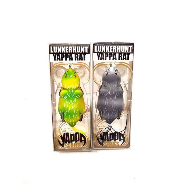 Lunkerhunt Yappa Rat Lure X 2, New