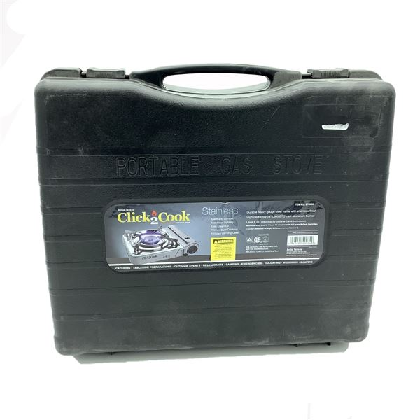 Click To Cook Portable Gas Stove, New