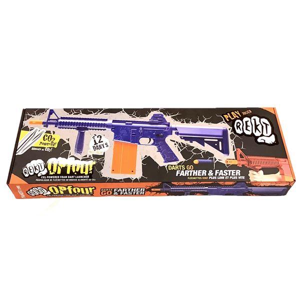 REKT Opfour CO2 Powered Dart Gun, New