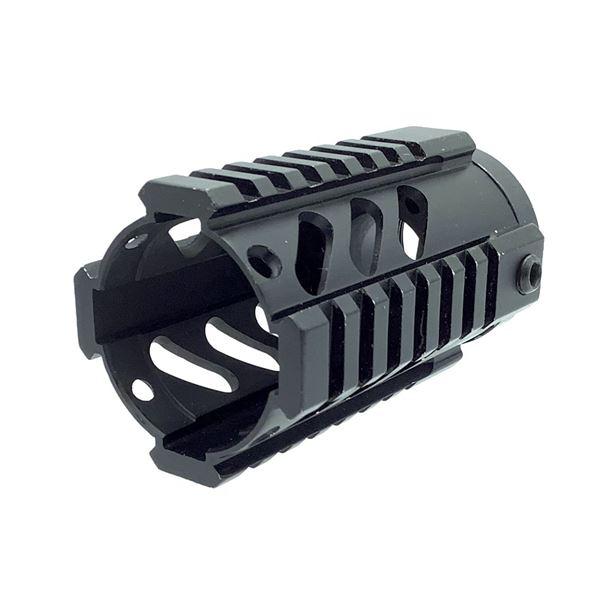 "AR15 Pistol Length 4"" Handguard with Picatinny Mount"