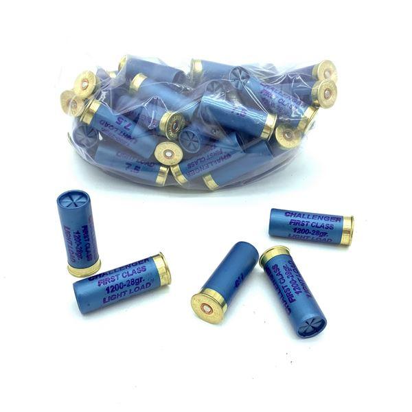Challenger 12 Ga #7.5 Ammunition - 50 Rnds