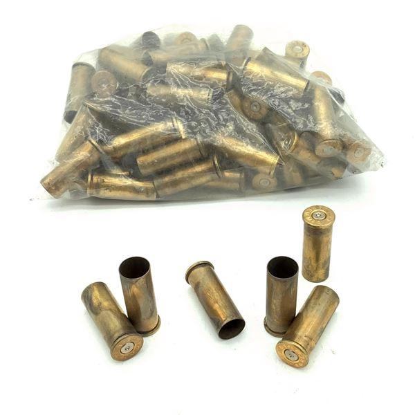 Assorted 44 Rem Mag Casings - 74 Casings
