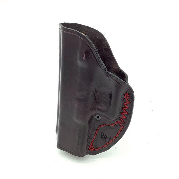 Glock 17 Custom Made Leather IWB Holster