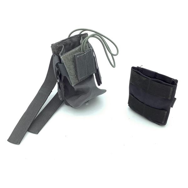 Molle Radio Pouch & LOF Single Mag Carrier