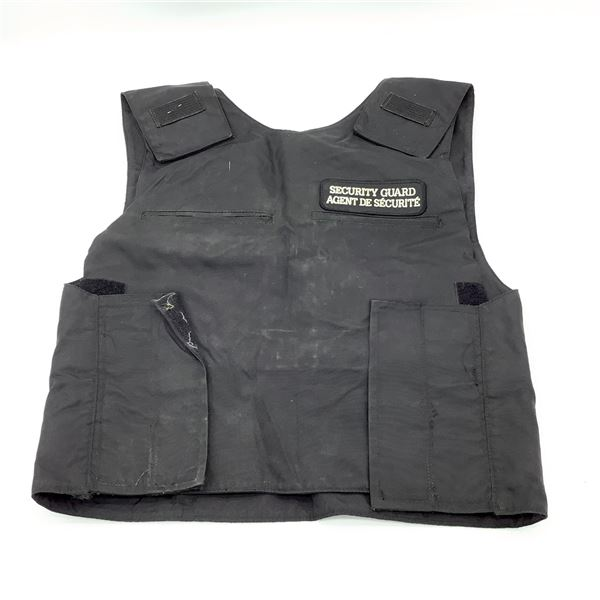 Security Guard Armor Carrier, No Armor, Size Large