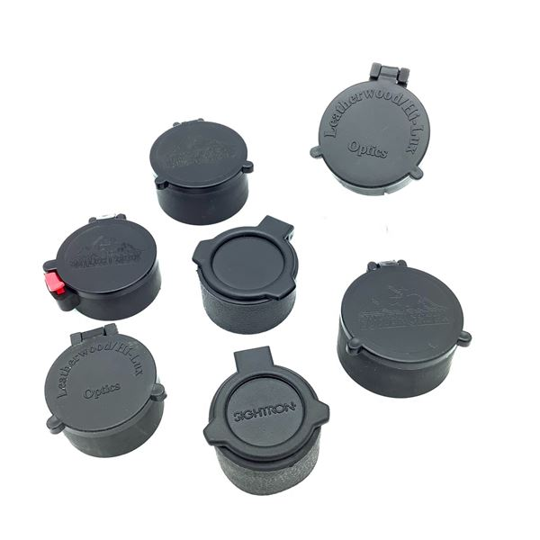 7 Scope Caps, Various Sizes