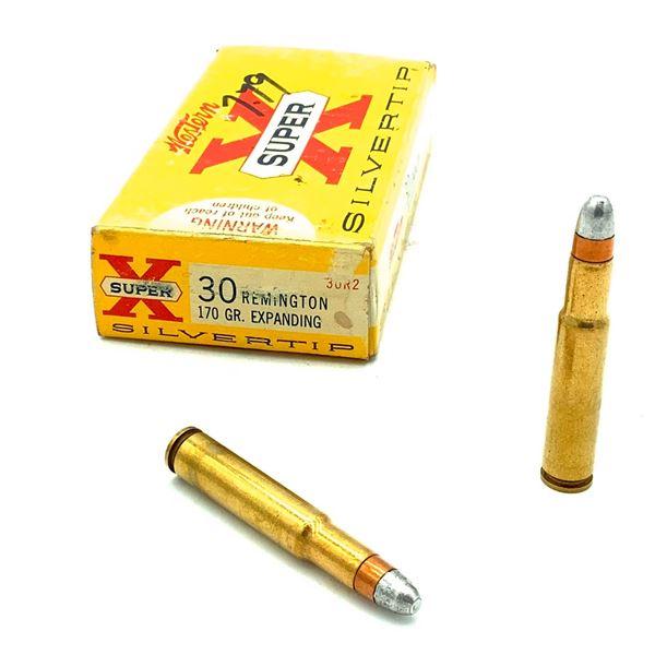 Western Super X 30 Rem. Ammunition - 20 Rnds