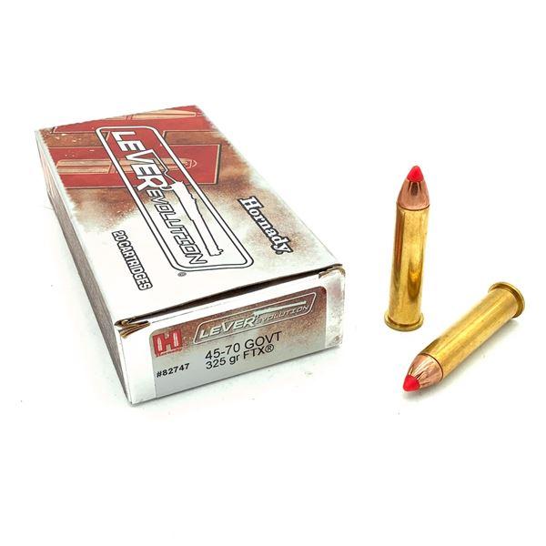 Hornady LeveRevolution 45-70 GOVT Ammunition- 15 Rnds